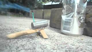 Homemade Mini Cannon