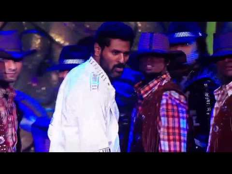 Prabhu deva Dance performance at IIFA 2012 In HD