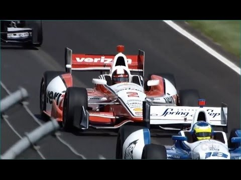 2014 IndyCar GP of Indianpolis Juan Pablo Montoya Highlights