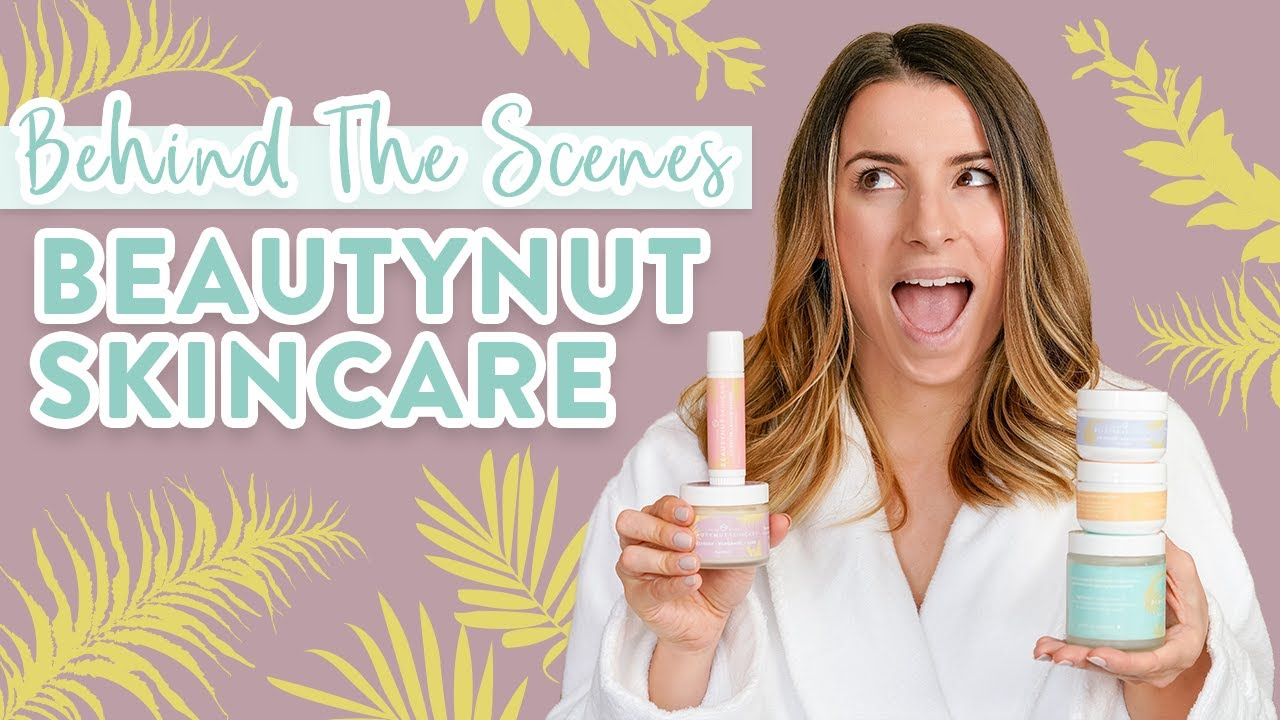 Launching My First SKINCARE LINE   Behind the Scenes of BeautyNut Skincare!