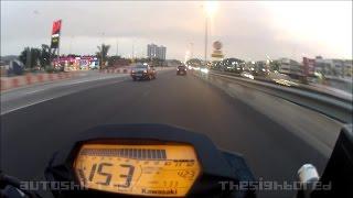 2014 Kawasaki Z250 SL City Ride