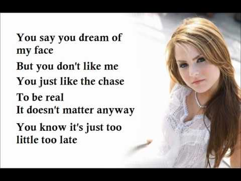 JoJo Too Little Too Late Lyrics