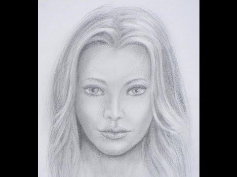 Cómo dibujar una cara realista - Cómo dibujar un rostro