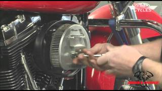 How To Remove 2010 Stock Harley Davidson Air Cleaner • J