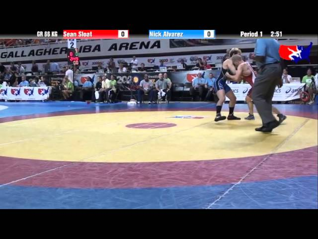 Sean Sloat vs. Nick Alvarez