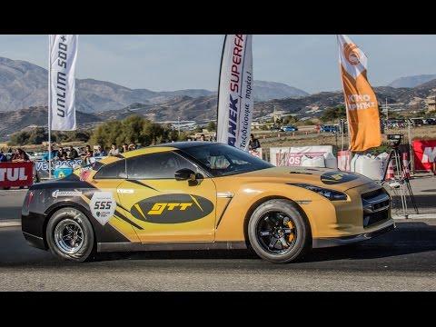 Fastest GT-R in Europe — 7.8 sec. @ 287 kmph