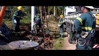 OBRAS - Extensão de rede e iluminação em Serra Negra/SP