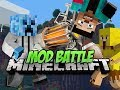 Minecraft MOD BATTLE - SUPERBOWL SUNDAY!