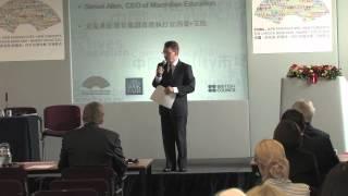 Professional Publishing Forum 'Co-operation and Win Win' - Simon Allen, CEO, Macmillan Education