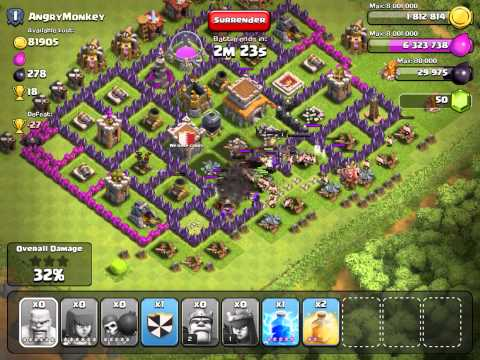 Clash of Clans  This is FUN FARMING