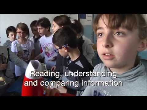 Six videos demonstrating CLIL used in classes from primary schools and vocational colleges