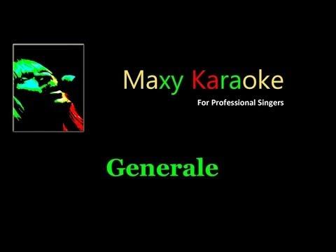 Generale - Karaoke - Nello stile di Francesco De Gregori