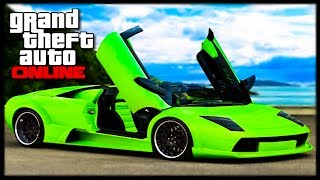 """GTA 5 Online Get """"Any Car Free"""" Single Player To Online"""