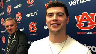Auburn QB Jarrett Stidham looks ahead to Iron Bowl
