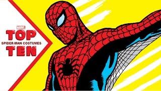 Marvel Top 10 Spider-Man Costumes
