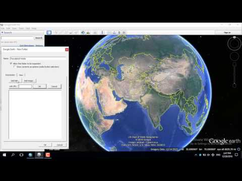Digitize Features in Google Earth and Export to Shapefile