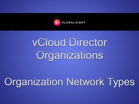 Guide to vCloud Director Organizations Networking