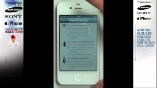 Usar IPhone Como Modem O Router: Crear La Red Wifi Para