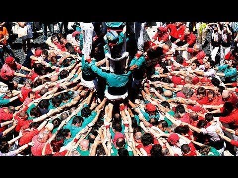 Espagne : chaîne humaine pour l'indépendance du Pays Basque