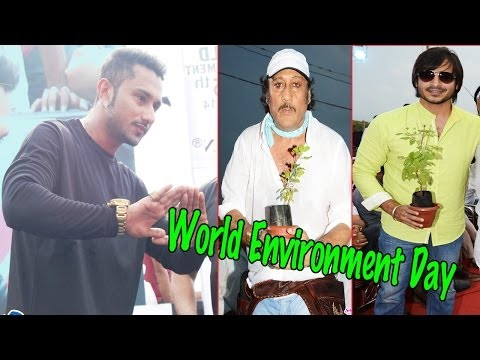 World Environment Day Celebrated | Honey Singh, Dia Mirza, Jackey