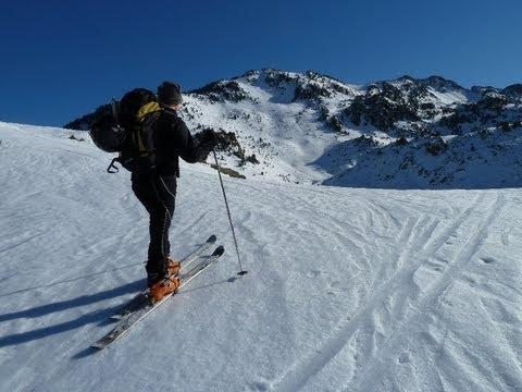 Esquí de Travesía en el Pic de la Touatère
