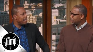 Tracy McGrady calls out Paul Pierce for picking Nuggets to reach WCF | The Jump