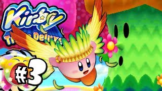 Kirby Triple Deluxe: BOSS Flowery Woods World 1 PART 3