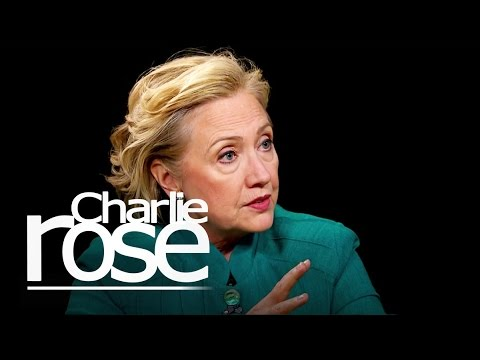 Hillary Clinton on Israel's Gaza Assault | Charlie Rose