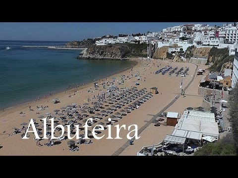 ALGARVE: Albufeira town & beach (Portugal) HD