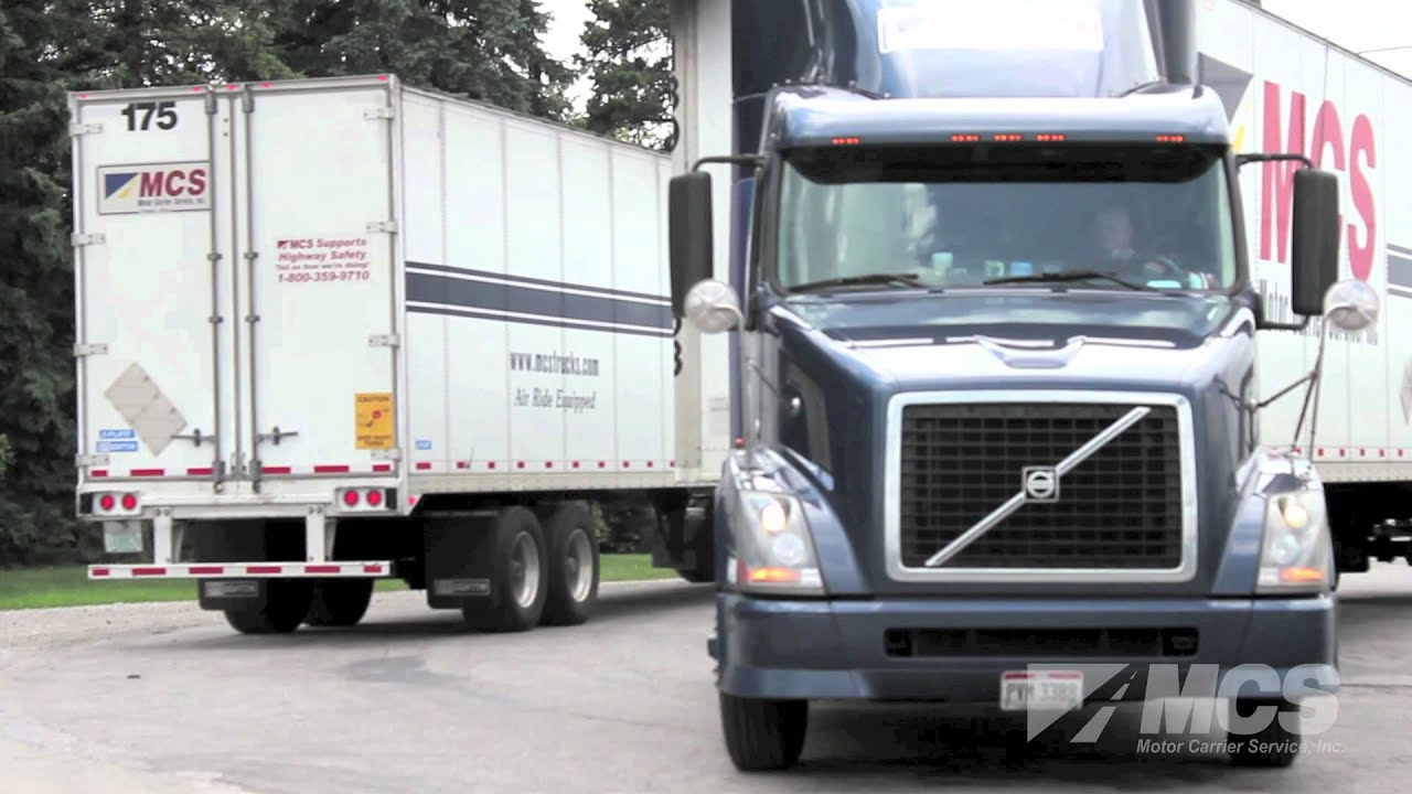 Why choose mcs trucking youtube for Motor carrier service inc