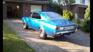 Opel Commodore A mit 45 Weber Doppelvergaser / German Muscle Car