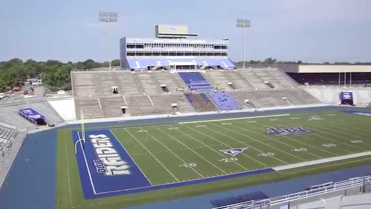 Middle Tennessee State Football Stadium - YouTube