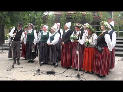"""00190  Starptautiskā folkloras festivāla """"Baltica 2015"""" ieskaņas sarīkojums Ogrē 27.06.2015"""