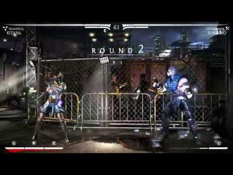 Kitana Fatality-Mortal Kombat X-Rồng Đen 10 (P1) ✔