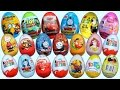 New Kinder Surprise Eggs Toys Minions Dyno Traktor Unboxing
