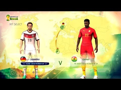 Germany v Ghana: World Cup simulator