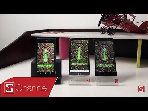 So sánh hiệu năng LG G3 vs Xperia Z2 vs Find 7