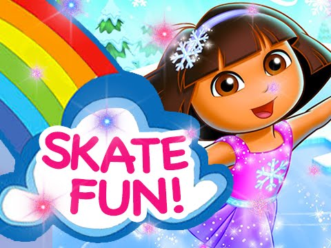 Dora's Skating Ballet Adventures - Full Games 2015 | Run Time: 26 Minutes