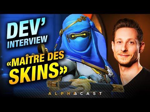 Une Partie avec un Dev d'Overwatch ! ► Renaud Galand, Lead Character Artist