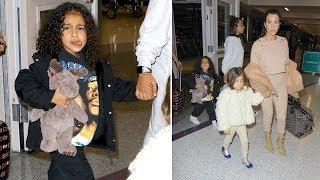 Kourtney Kardashian Returns To LA To Bond With Kylie's New Baby Girl