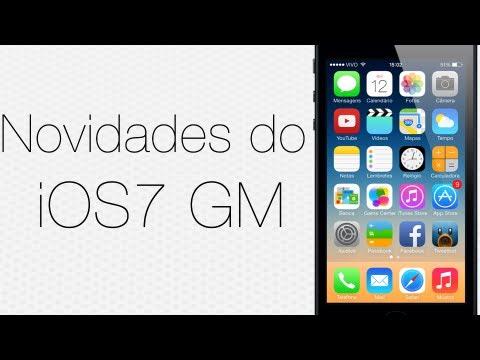 Novidades do iOS 7 Golden Master: Novos ringtones, novos toques de alerta e novos wallpapers!