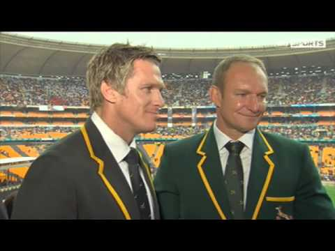 Springboks pay tribute to Mandela   Video   Watch Sports