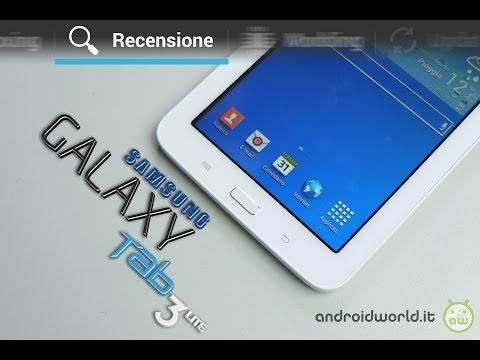 Recensione Samsung Galaxy Tab 3 Lite