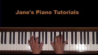 Cole Porter Anything Goes Piano Tutorial v.2 view on youtube.com tube online.