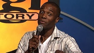 Laugh Factory: Chris James: Black British Accent