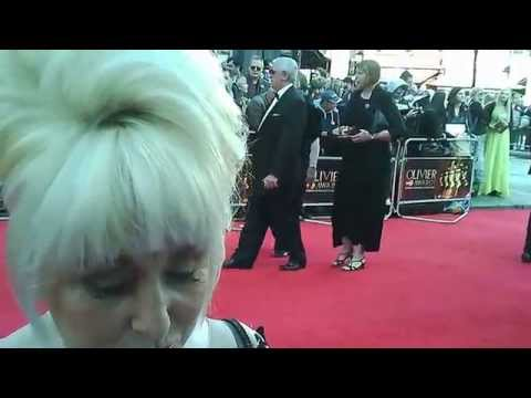 Barbara Windsor Signing Autographs