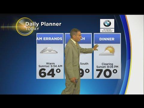 WBZ Morning Forecast For July 29