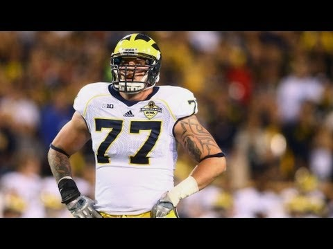 2014 NFL Draft - No. 11, Tennessee Titans select OT Taylor Lewan, Michigan | CampusInsiders