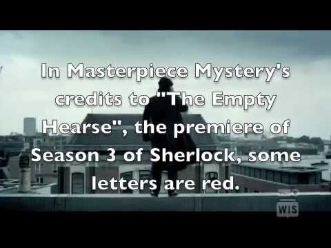 WhoLock(Sherlock/Doctor Who) Easter Egg hidden in the credits of 'The Empty Hearse',