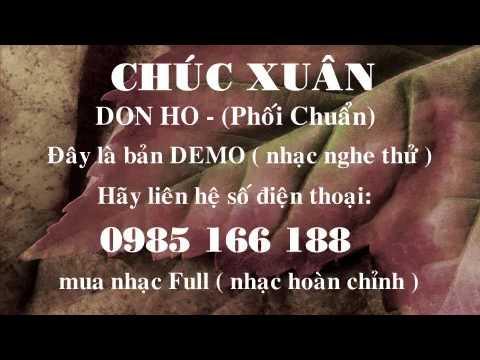 [Beat] Chúc Xuân - Don Hồ (Paris By Night 110)